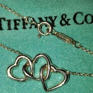 TIFFANY TRIPLE HEART PENDANT